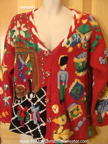 Holy Grail of Ugly Christmas Sweater Nutcracker Bears
