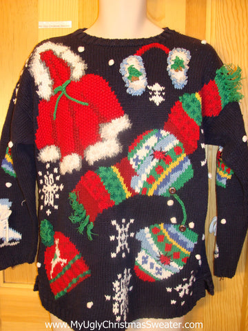 Best 2sided 80s Funny Christmas Sweater Pullover