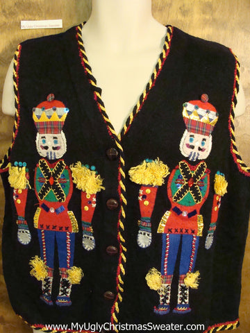 Bling Nutcracker Awesome Christmas Sweater Vest