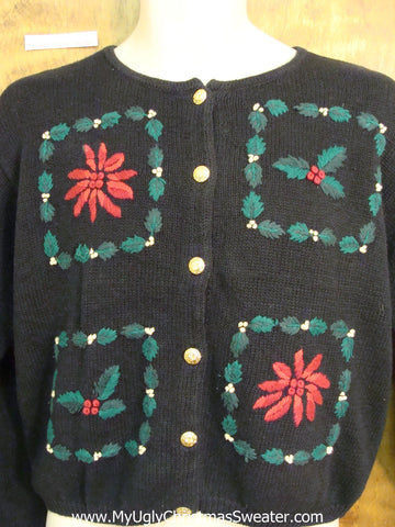 Four Block of Fun Cheesy Christmas Jumper Sweater
