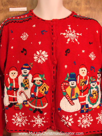 Austrian Winter Cheesy Christmas Jumper Sweater