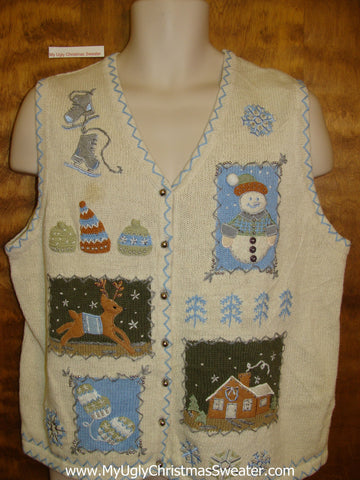 Super CHEAP Ugly Festive Xmas Sweater Vest