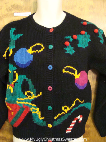 Abstract Art Awful Ugly Festive Xmas Sweater