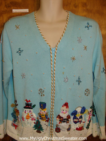 Seriously Bing Filled Ugliest Christmas Sweater