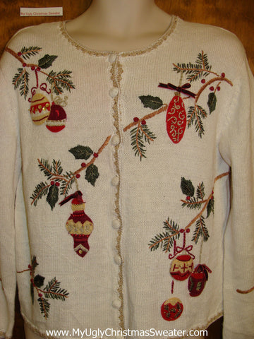 Cheap 80s Ugliest Christmas Sweater