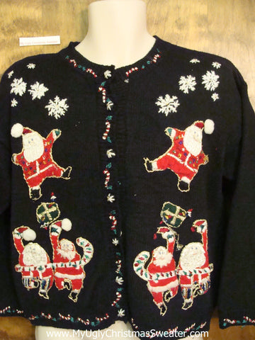 Crazy Santas Ugliest Christmas Sweater