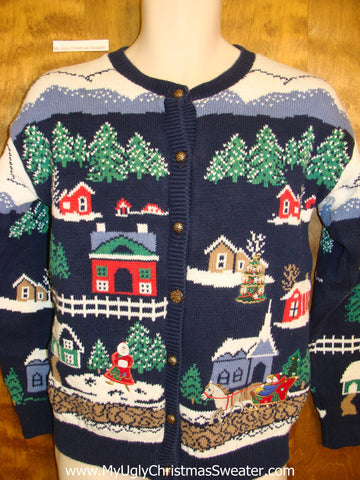Colorful 2sided Ugliest Christmas Sweater