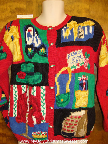 BEST 80s Amazing Ugliest Christmas Sweater