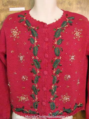 80s Ivy Ugliest Christmas Sweater