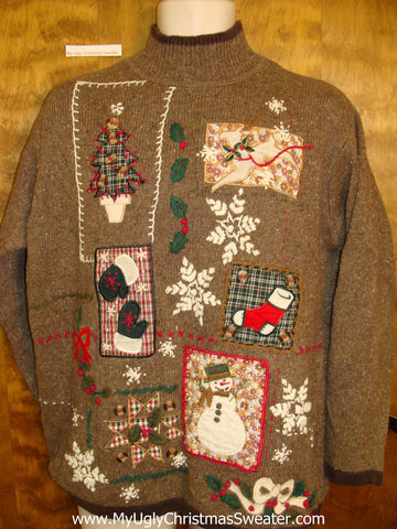Horrible Mess Ugliest Christmas Sweater