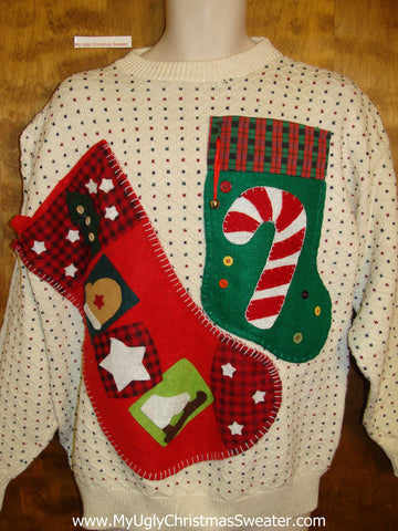 Homemade Mens Ugliest Bad Christmas Sweaters