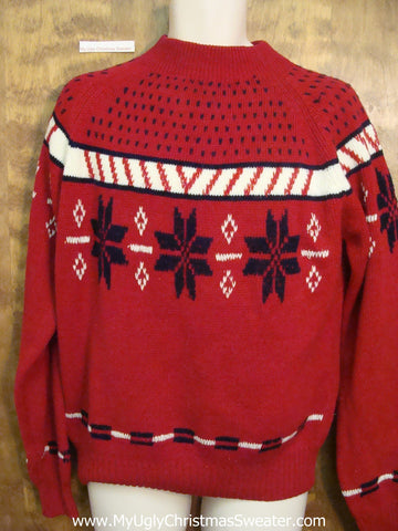 Classic Nordic 2sided Ugliest Bad Christmas Sweaters
