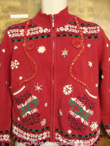 Nordic Mittens Ugliest Bad Christmas Sweaters
