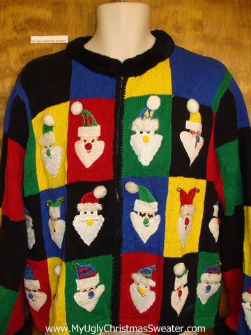 The Most Colorful Ugliest Bad Christmas Sweater