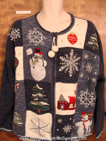 Crazy Cute Ugliest Bad Christmas Sweaters Mens Wms XXXL