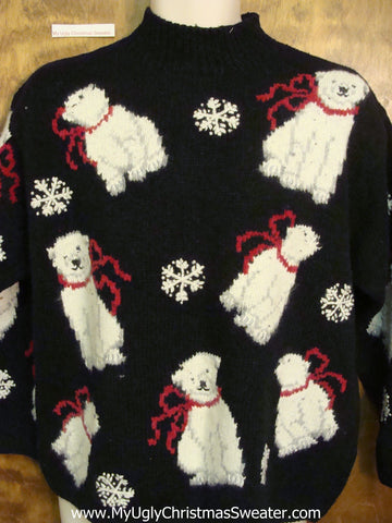 Awesome Polar Bears Ugliest Bad Christmas Sweaters Pullover