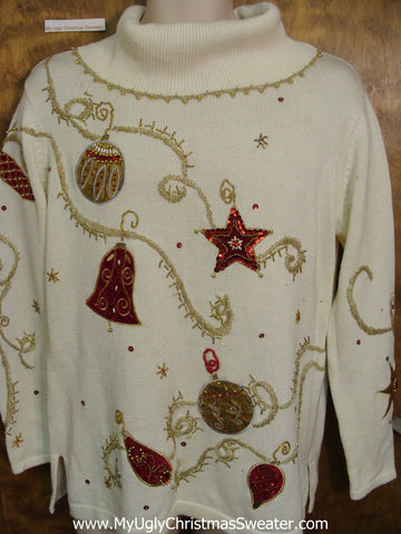 80s Horrible Ugliest Bad Christmas Sweaters Pullover