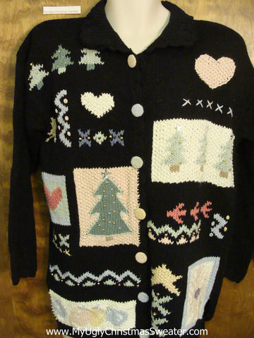80s Charming Ugly Bad Christmas Sweaters