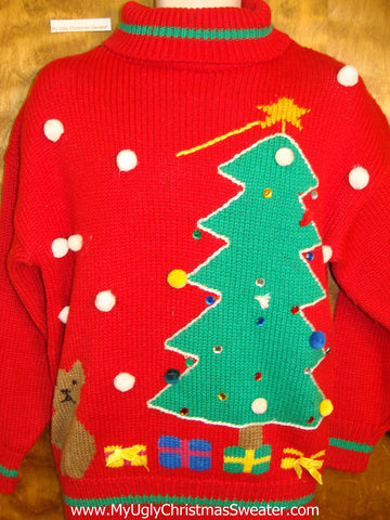 80s Best Corny Christmas Sweater Pullover