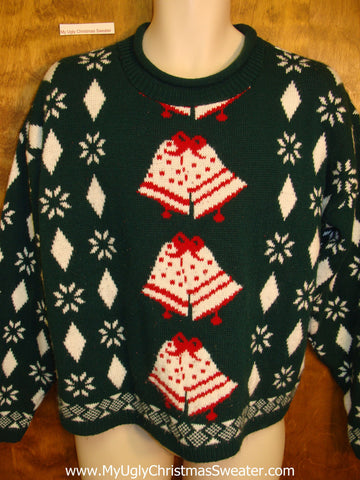 Best 80s Retro Horrible Ugly Christmas Sweater Pullover
