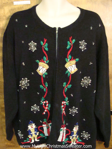 Nutcrackers Cheap Ugly Christmas Sweater  XXXL