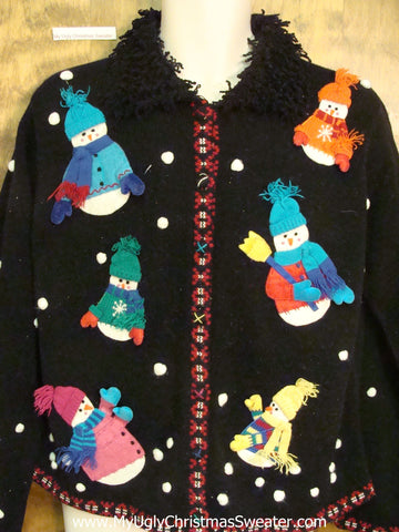 Best Snowmen Themed Ugly Christmas Sweater