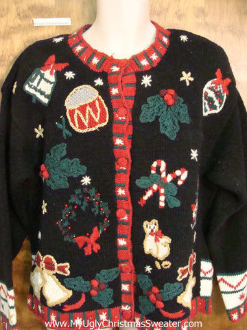 Tacky Mess Cheap Ugly Christmas Sweater