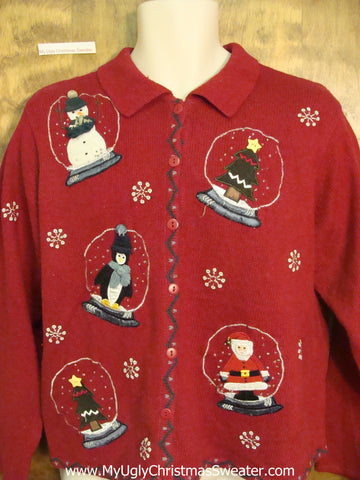 Snowglove Themed Cheap Ugly Christmas Sweater