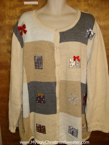 BIG SIZE! Horrible Christmas Sweater XXXL 4XL