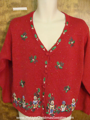 Nutcrackers and Ivy Horrible Christmas Sweater