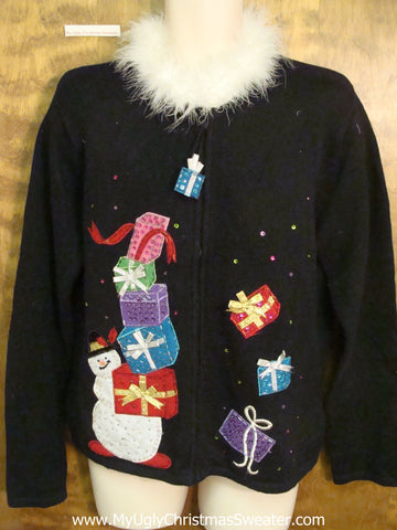 Funny Collar Horrible Christmas Sweater