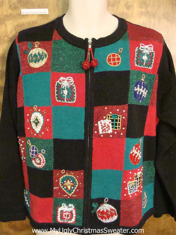Horrible Bling Gifts Christmas Sweater