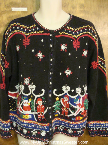 Best Nordic Horrible Christmas Sweater