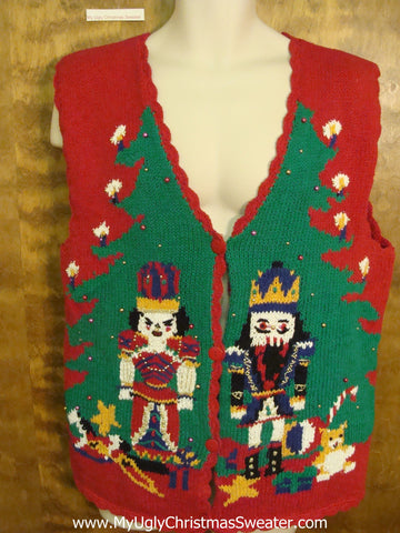 Best Nutcracker Ugly Christmas Sweater Vest