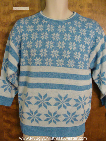 Classic Vintage 70s or 80s Ugly Christmas Sweater