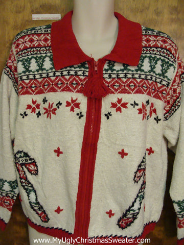 80s Nordic 2sided Ugly Christmas Sweater
