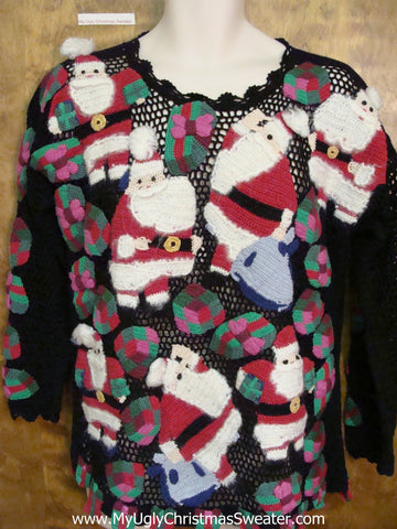 BEST EVER Horrible Ugly Christmas Sweater Pullover