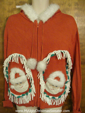 Best of the Best Ugly Christmas Sweater Hoody