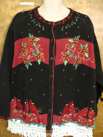 Horrible Birds Ugly Christmas Sweater XXXL+ Big Size