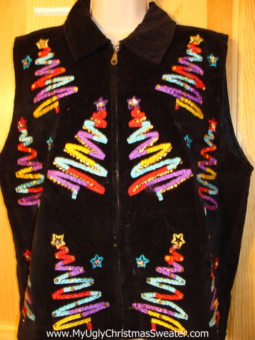 Tacky Ugly Christmas Sweater Party  Vest (f364)