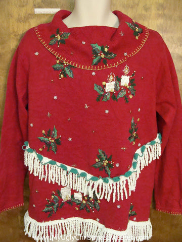 Fantastic 80s Horrible Ugly Christmas Sweater