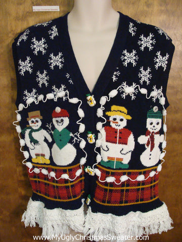 Super Funny Ugly Christmas Sweater Vest