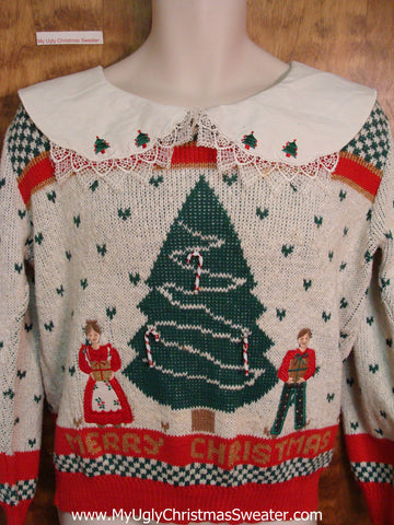 Best EVER 80s Ugly Christmas Jumper Pullover