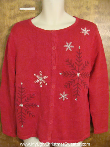 Cheap Red Ugly Christmas Jumper