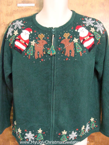 80s Nordic Yoke Ugly Christmas Jumper