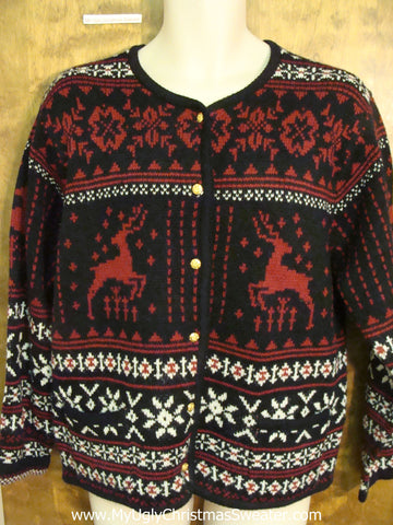 Nordic Reindeer 2sided Ugliest Christmas Sweater