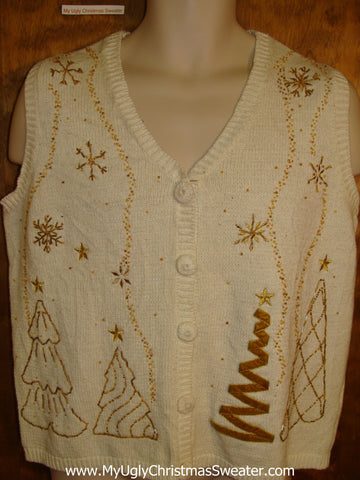 Ugliest Cheap Christmas Sweater Vest