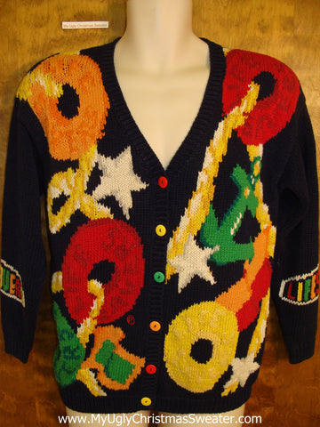 LIFESAVERS Best 80s Ugliest Christmas Sweater