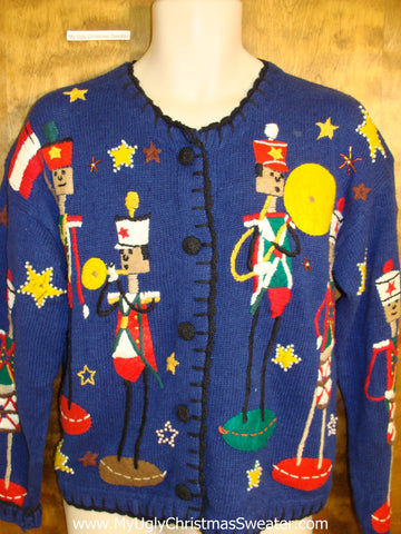 Best Scary Nutcrackers Ugliest Christmas Sweater