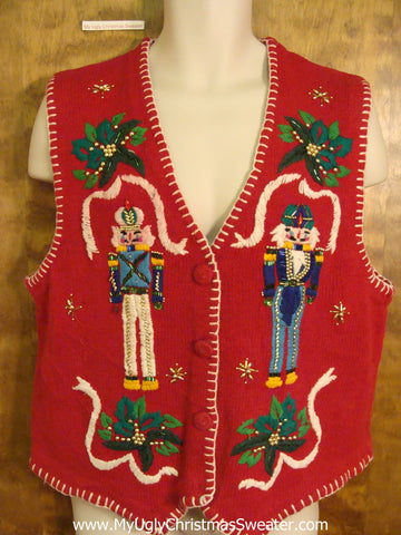 Best Dueling Nutcrackers Christmas Sweater Vest